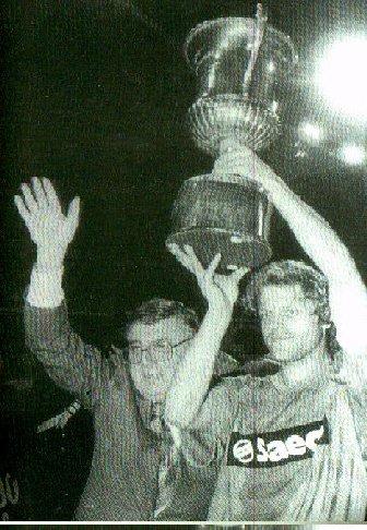 La Coppa Mitropa vinta dal Pisa nel 1985